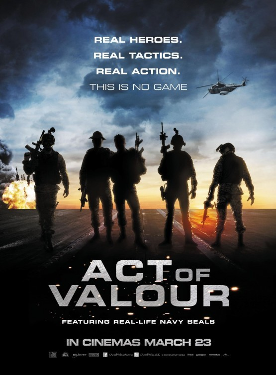 Act of Valor: nuovo poster USA