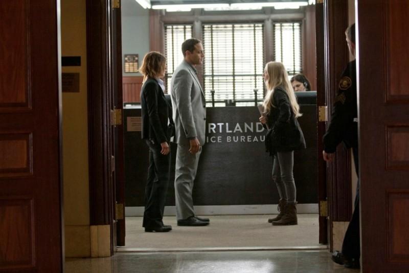 Amanda Seyfried in una scena del thriller Gone (2012)