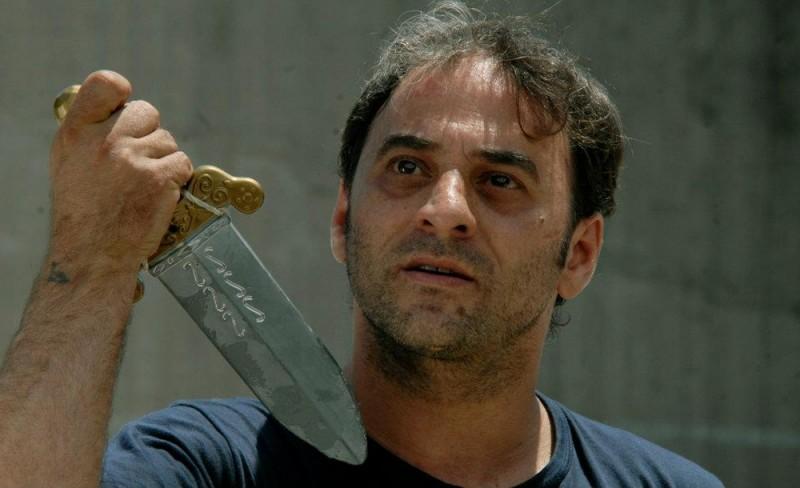 Cesare deve morire: Salvatore Striano in una scena del film nei panni di Bruto