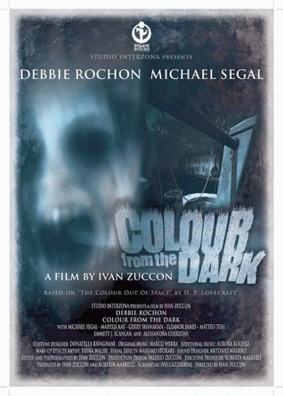 Colour from the Dark: la locandina originale