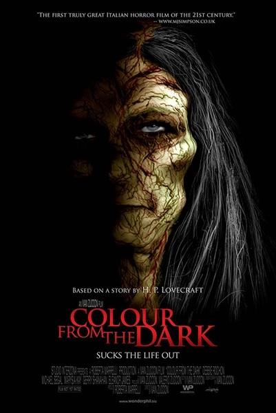 Colour from the Dark: la locandina internazionale del film