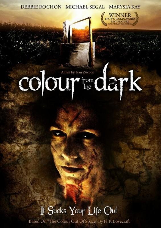 Colour from the Dark: una locandina del film