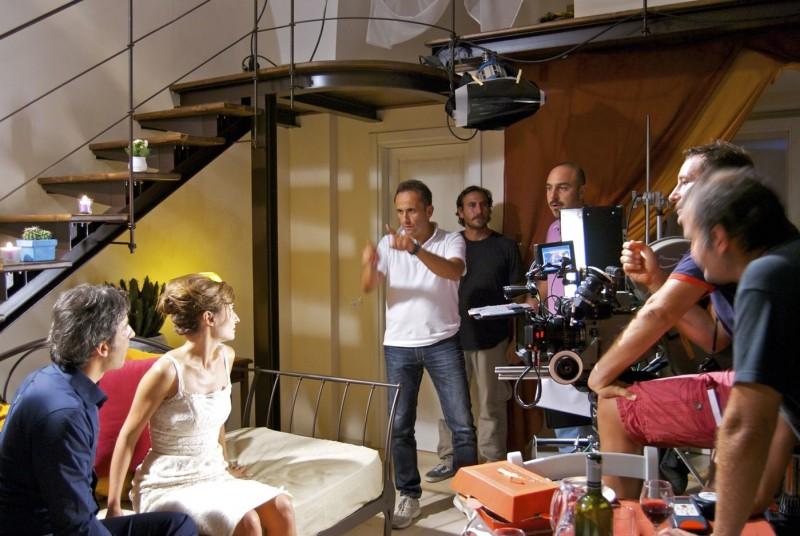 Non me lo dire: Uccio De Santis sul set del film
