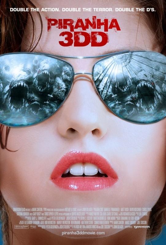 Piranha 3DD: nuova locandina internazionale