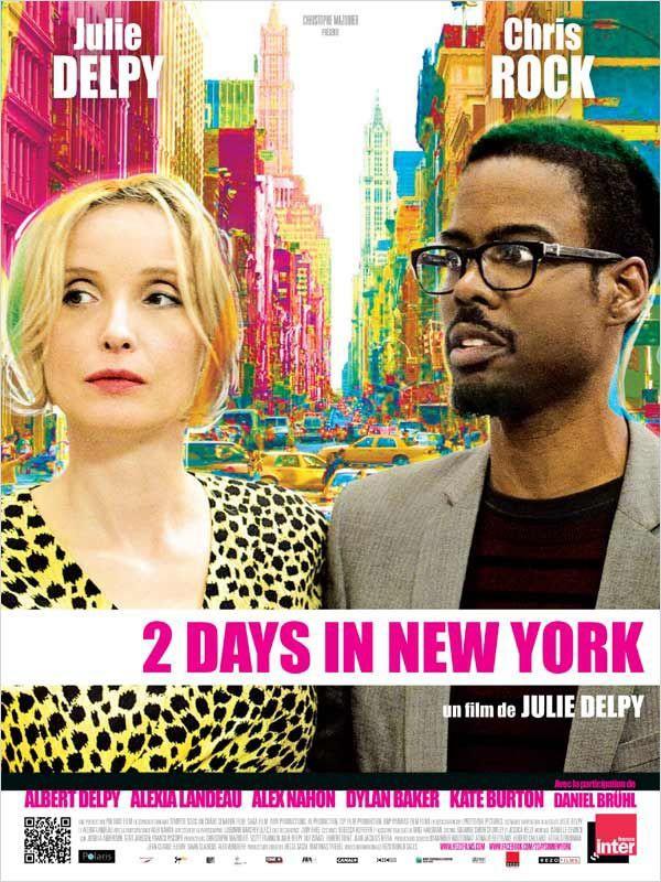 Two Days in New York: la locandina del film
