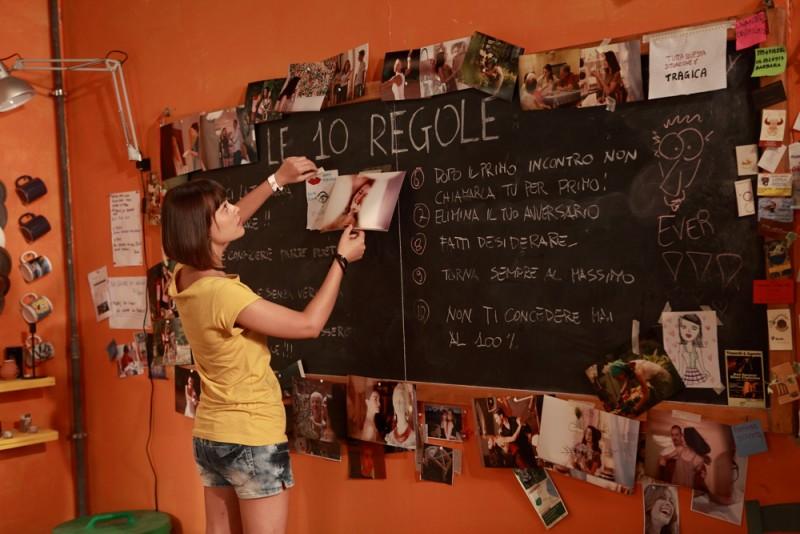 10 regole per fare innamorare: Fatima Trotta in una scena del film