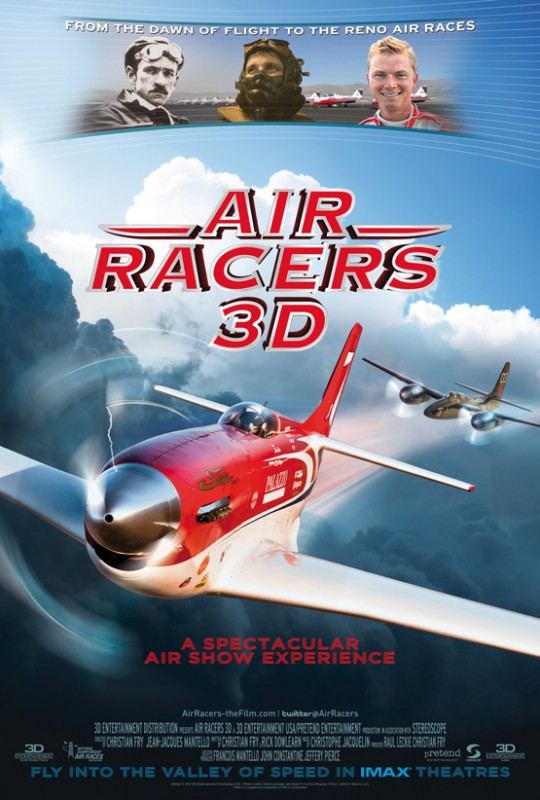 Air Racers 3D: la locandina del film
