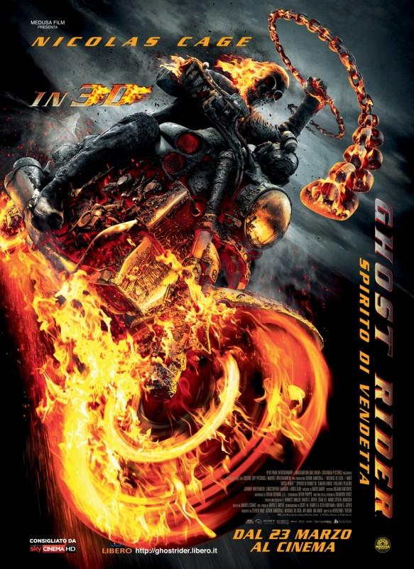 Ghost Rider: Spirito di Vendetta, il poster italiano
