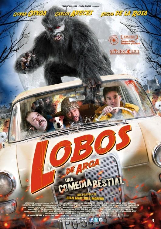 Lobos de Arga: la locandina del film