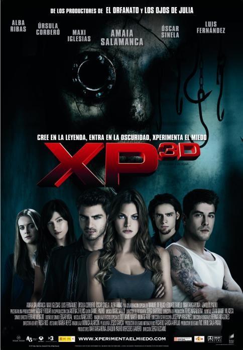Paranormal Xperience 3D: una locandina spagnola del film