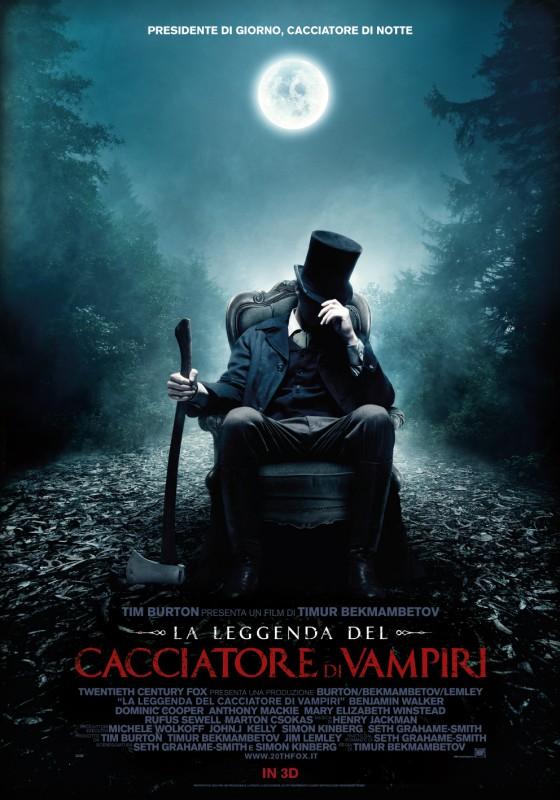 La leggenda del cacciatore di vampiri: la locandina italiana