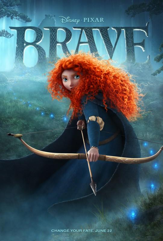 Ribelle - The Brave: ecco una nuova locandina dedicata all'eroina Merida