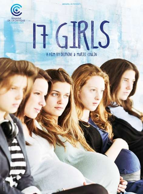 17 filles, la locandina internazionale del film
