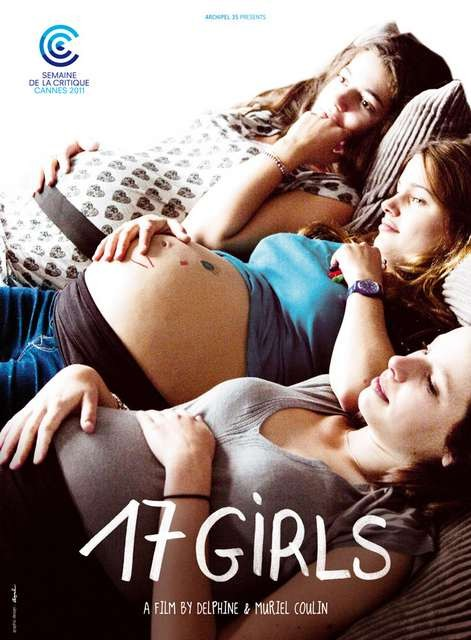 17 filles, una locandina internazionale del film