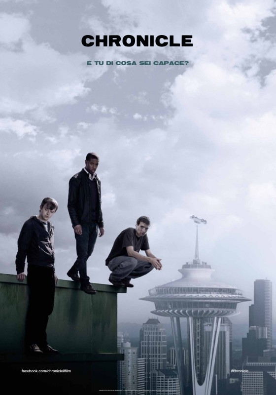 Chronicle: il teaser poster italiano