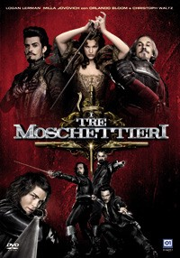 La copertina di I tre moschettieri in 3D (dvd)
