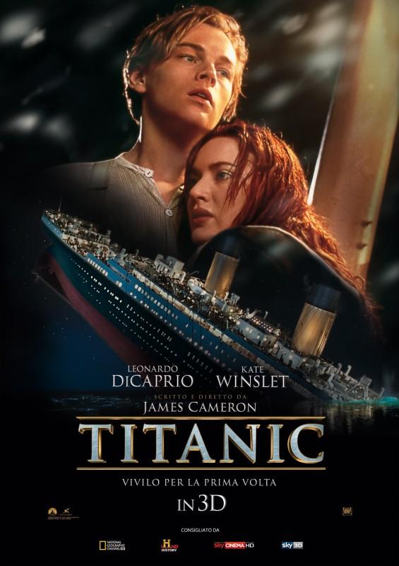 Titanic in 3D: la locandina italiana