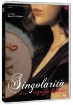 La copertina di Singolarità di una ragazza bionda (dvd)