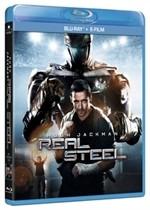 La copertina di Real Steel (blu-ray)