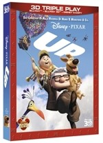 La copertina di Up 3D - Triple Play (blu-ray)