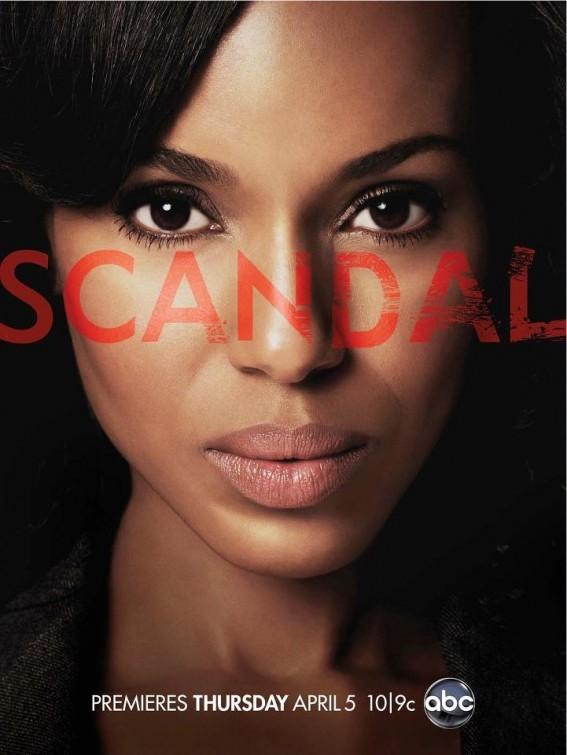 La locandina di Scandal
