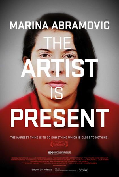 Marina Abramovic: The Artist Is Present: la locandina del film