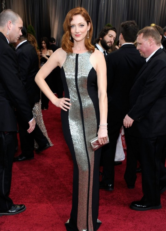 Oscar 2012: Judy Greer sul red carpet