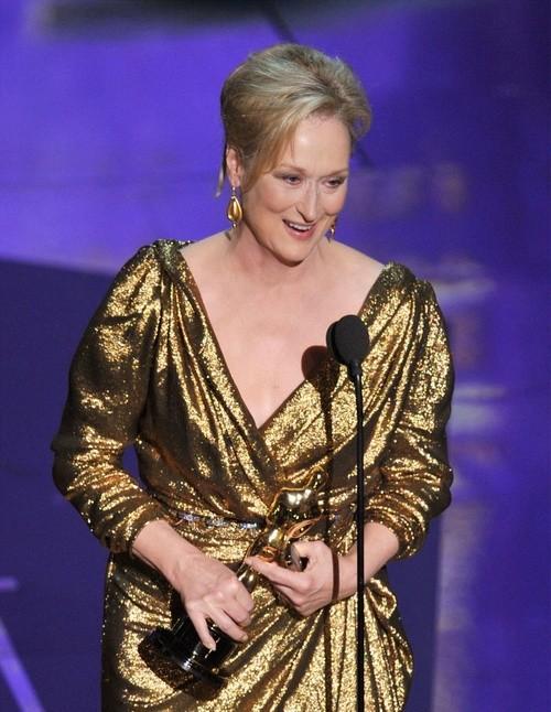 Oscar 2012: Meryl Streep è la miglior attrice protagonista per The Iron Lady