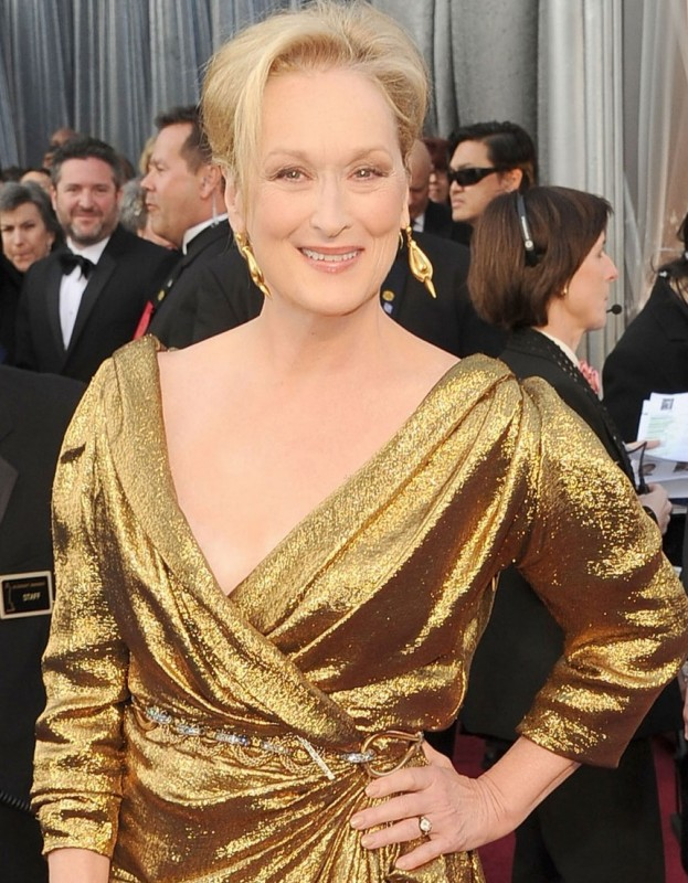 Oscar 2012: Meryl Streep sul red carpet