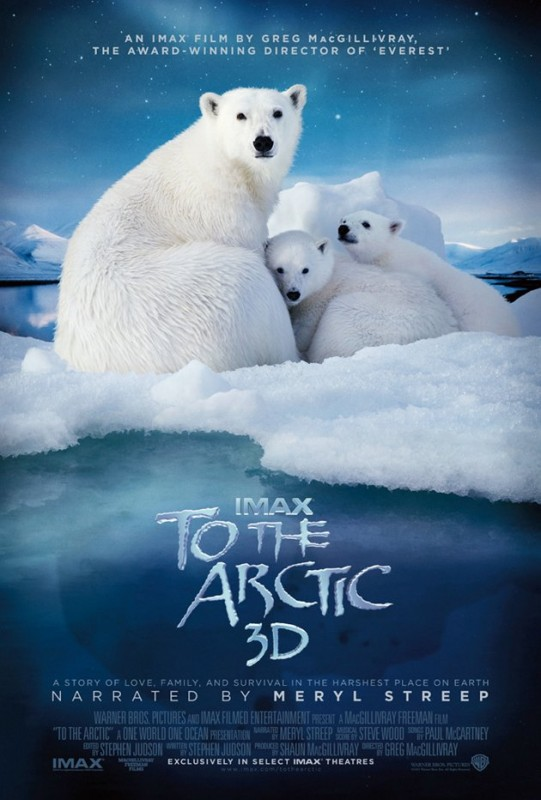 To The Arctic 3D: la locandina del film