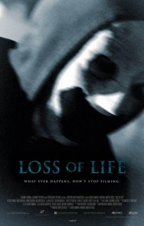 Loss of Life: un inquietante poster dell'horror di David Damiata