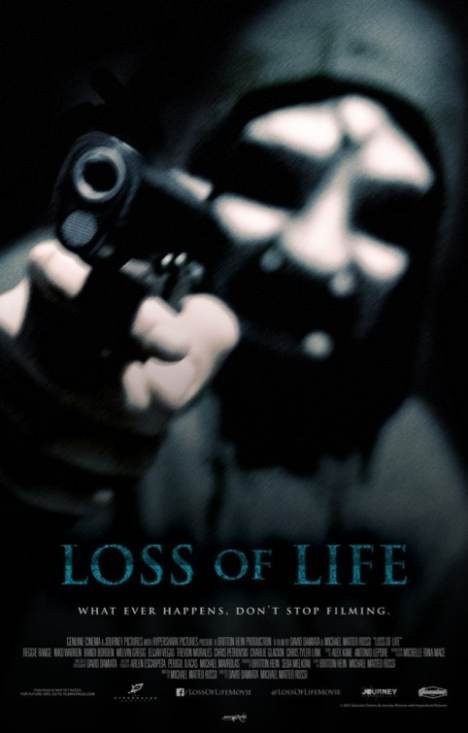 Loss of Life: un inquietante teaser poster dell'horror di David Damiata