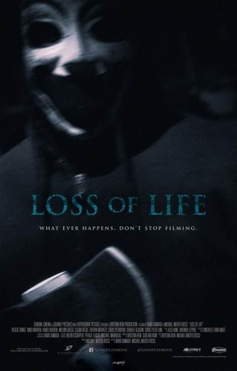 Loss of Life: un poster dell'horror di David Damiata
