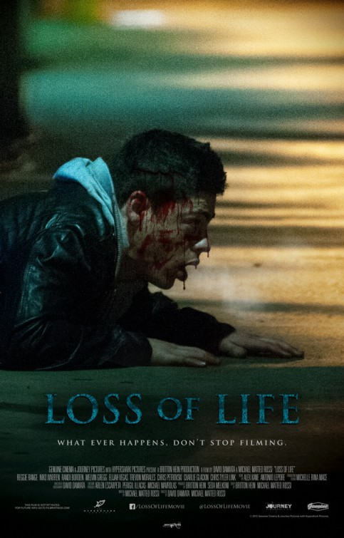 Loss of Life: un teaser poster dell'horror di David Damiata