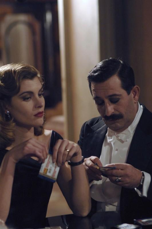 Vittoria Puccini in una scena del film Magnifica presenza con Cem Yilmaz