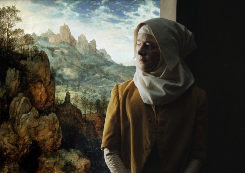 I colori della passione: Charlotte Rampling in una scena de I colori della passione di Lech Majewski
