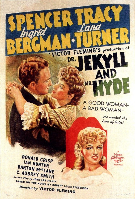 Il Dottor Jekyll e Mr. Hyde - Locandina inglese del film