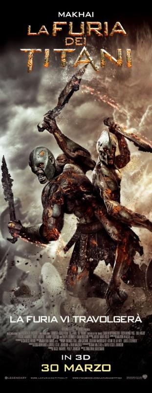 La furia dei Titani: il character poster italiano dei Makhai