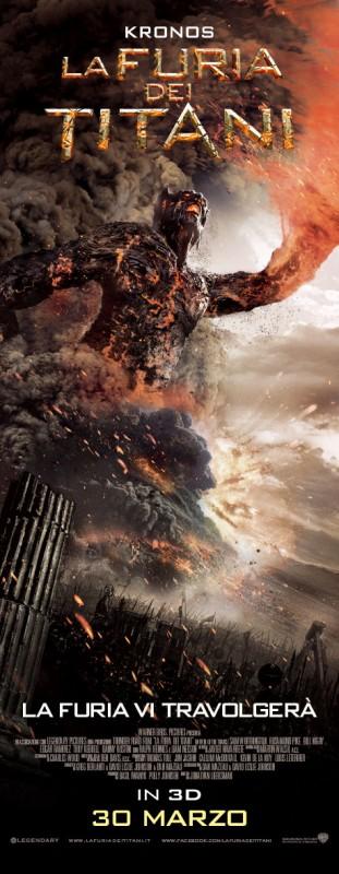 La furia dei Titani: lo spaventoso character poster di Kronos