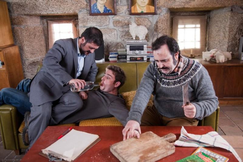 Lobos de Arga: una scena della commedia horror spagnola