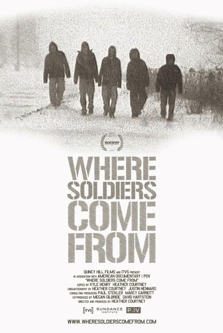 Where Soldiers Come From: la locandina del film