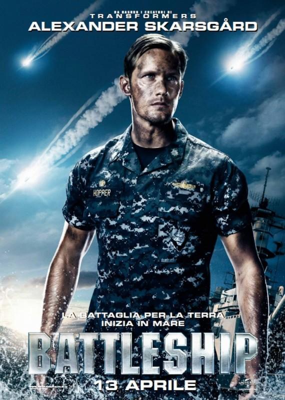 Battleship: il character poster del film con Alexander Skarsgård