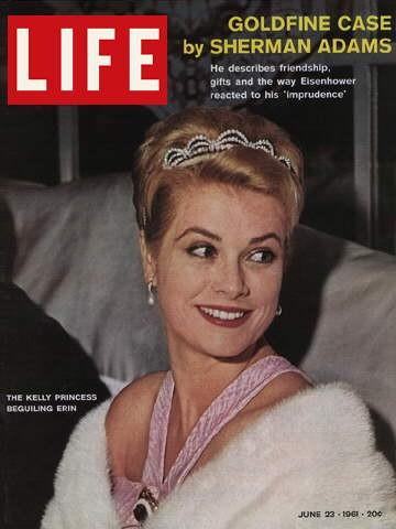 Grace Kelly, principessa di Monaco, in copertina su LIFE