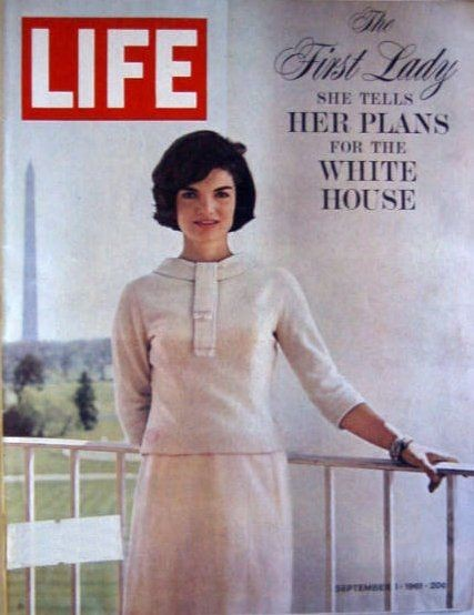 Jackie Kennedy in cover su LIFE