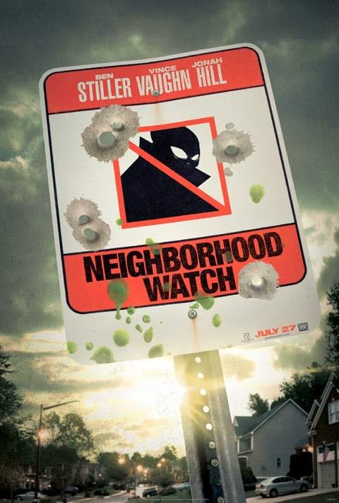 Neighborhood Watch: ecco la locandina