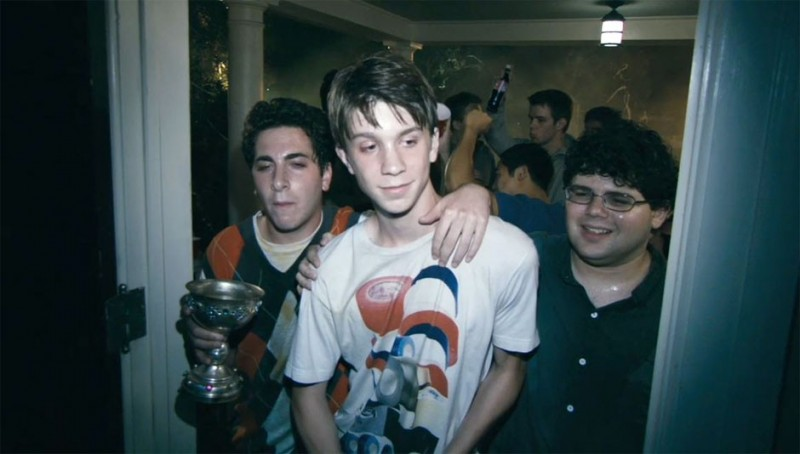 Project X: Oliver Cooper, Thomas Mann e Jonathan Daniel Brown in una scena