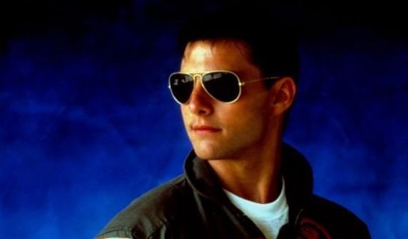 Top Gun: Tom Cruise in una immagine promo del film