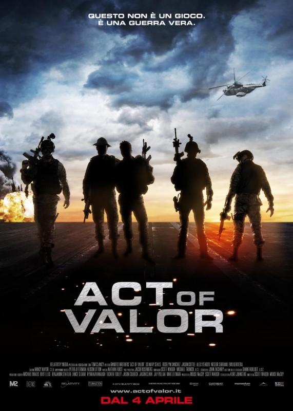 Act of Valor: la locandina italiana del film