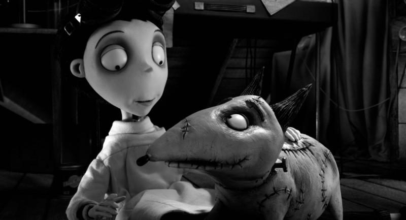 Frankenweenie: un'immagine tratta dal nuovo capolavoro animato di Tim Burton