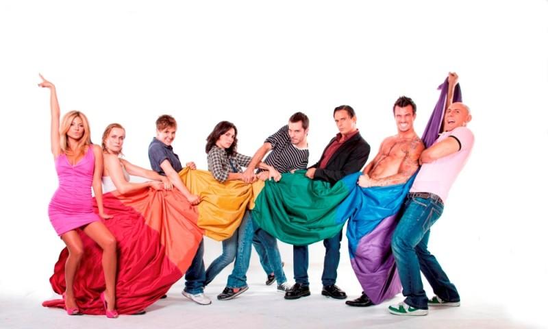 Good as You: il cast al completo in una foto promozionale